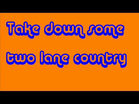 Take a Back Road Lyrics-Rodney Atkins