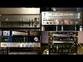 Soundtest- Sansui G-901DB VS Tandberg 3003 VS Akai AM-93 VS Harman Kardon 730 twin