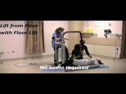 Using a Floor Lift to Assist from the Floor Following a Fall