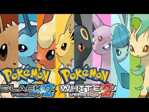 Pokemon Black 2 & White 2 - How to get Eevee & Evolve It!