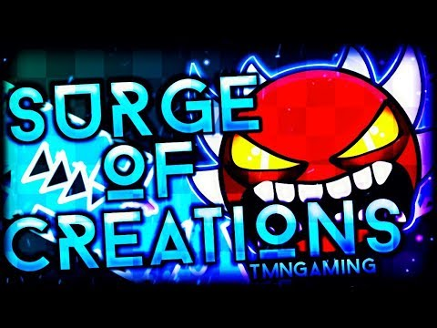 "(Extreme Demon) | ""Surge of Creations"" 100% COMPLETE By TMNGaming! 