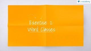 Latihan Soal-2: Word Classes (Bahasa Inggris - kelas X- SMA, SBMPTN)