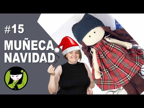 Vestido para muñeca amigurumi 15 amigurumis de navidad