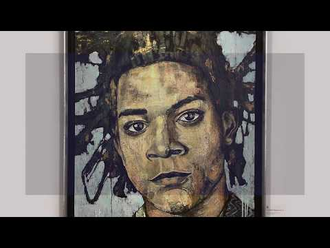 Painting of Jean-Michel Basquiat by Titö