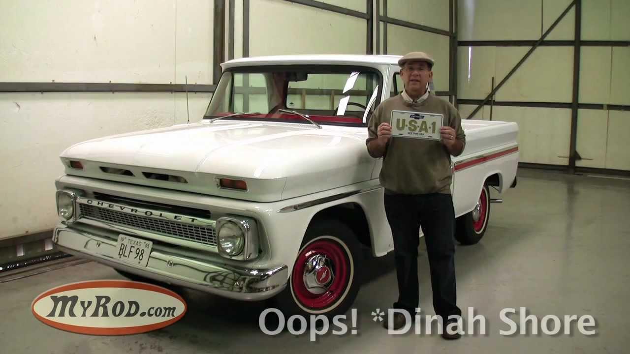 1965 Chevy Truck Short Wide Bed - Myrod Com