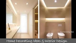 Sloped ceiling bathroom designs | Pictures of latest modern bathroom toilet decor & interior