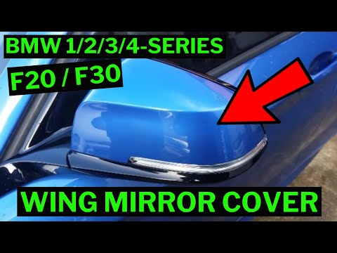 Bmw 1234 Series Wing Mirror Cap Cover Removal How To F20f21