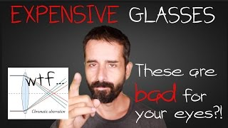 jake steiner crap o vision polycarbonate lenses   abbe value 30 yikes