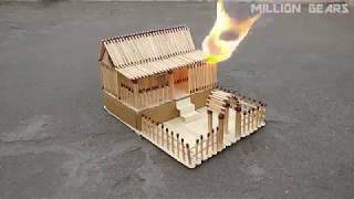 Kibiriti How to make house fire