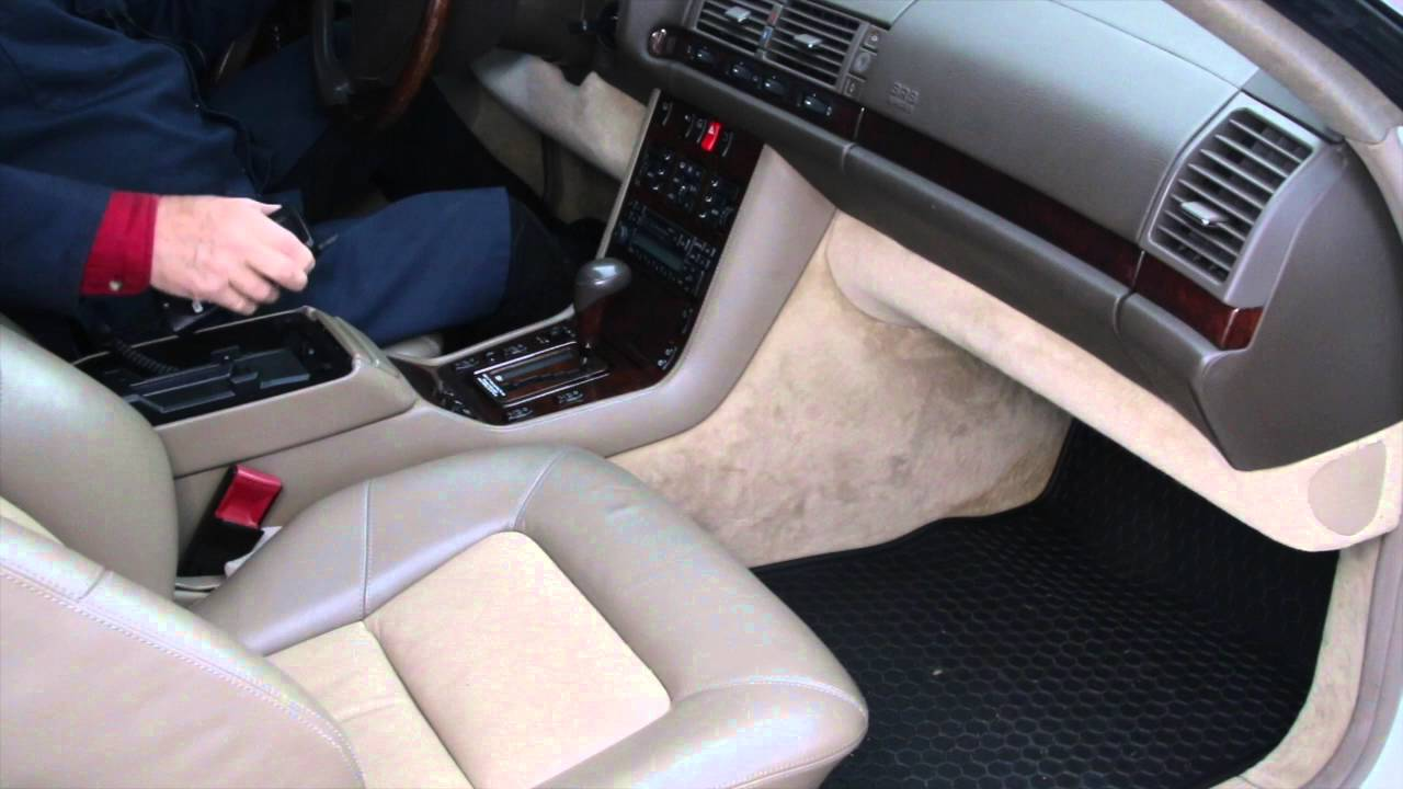 The Son of the Beast Part 5: Cool Features Inside the W140 S600 Coupe
