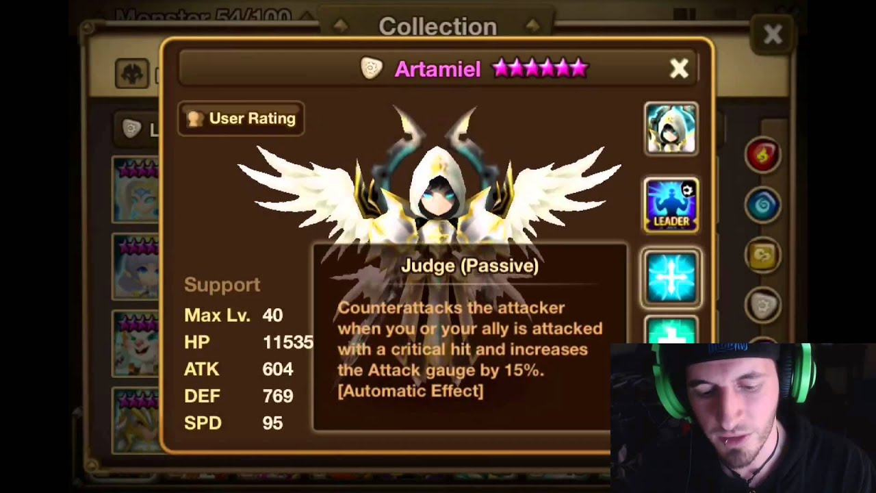 Summoners War Archangel Review And How To Rune Fire