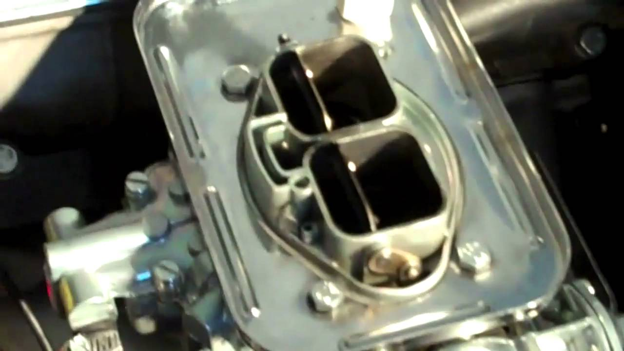 Video of Popping from Carb and Exhaust