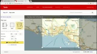 Yandex Maps XSS
