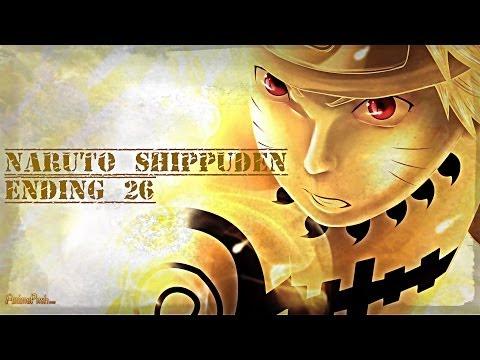 Naruto Shippuden Ending 26 - [ yume o daite by Rake ]