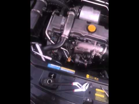 saab     tid egr manifold removal  clean youtube