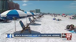 Hurricane Hermine hurts beach businesses