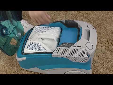 Как установить мешок в пылесос Thomas