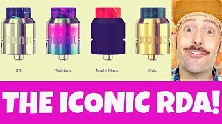 Mike Vapes NEW Iconic RDA! #SQUONKLIFE