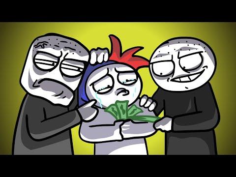 Как нас барыги на деньги кинули... (Анимация)