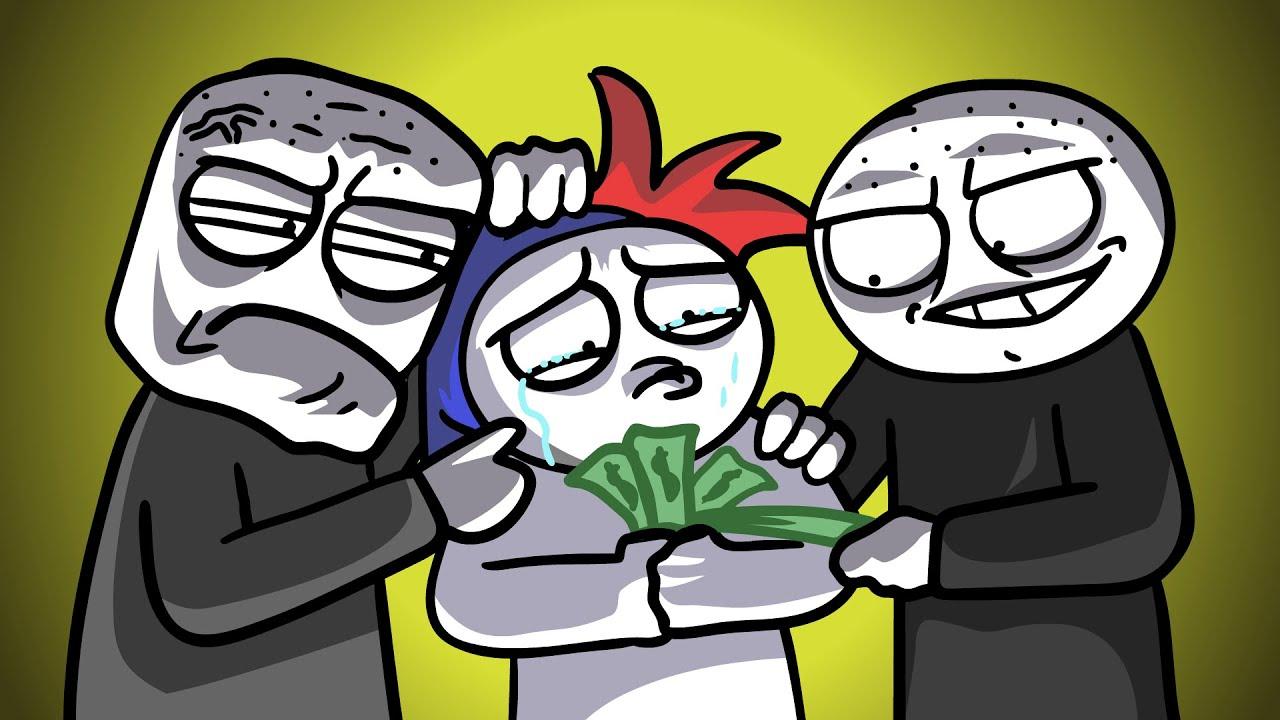 Как нас барыги на деньги кинули… (Анимация)