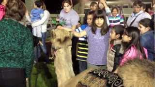 Live Nativity Scene At OBS With The Ocala Farm Ministries - 2012