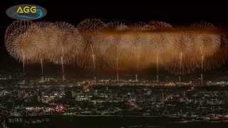 [ 4K Ultra HD ] 長岡花火大会 2015 復興祈願花火 フェニックス Nagaoka Fireworks Festival 2015 Phoenix