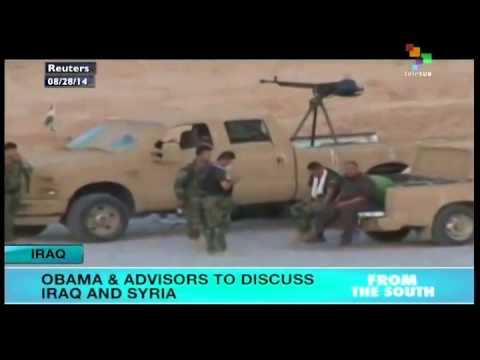 Obama to meet with advisors on Syria, Iraq