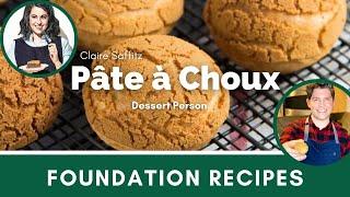 Testing Claire Saffitz&#39s Cream Puffs (Pate a Choux)  Dessert Person