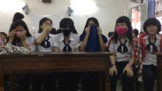 Bar bar bar cover dance by 11D3 Gia Định High School 2013-2014