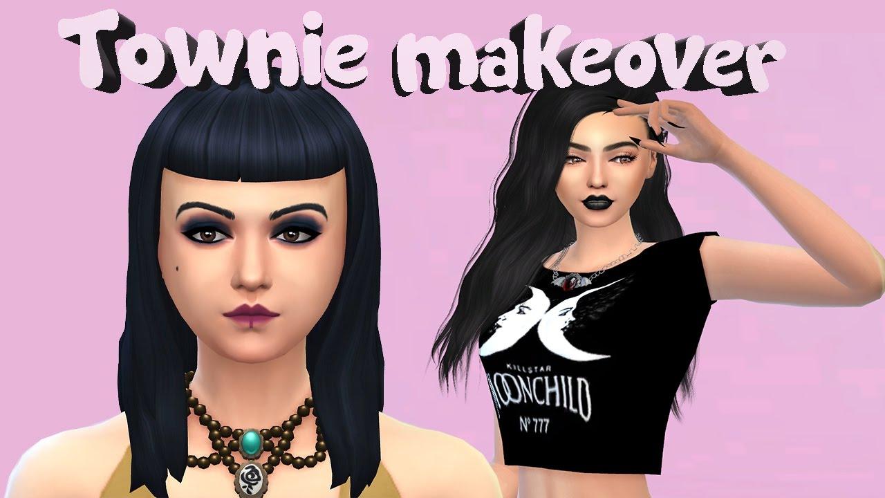 Sims 4|Townie Makeover|Lilith Vatore - Thủ thuật máy tính - Chia sẽ