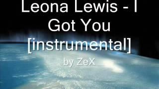 Leona Lewis - I Got You [instrumental]