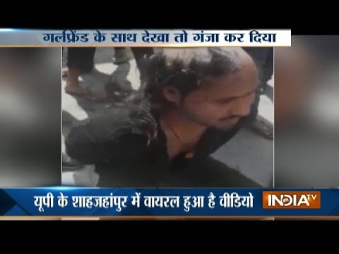 Shahjahanpur: 'Anti-Romeo squad' shaves man's head in presence of cops in UP