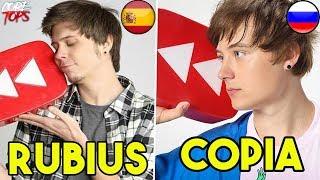 5 COPIAS Más DESCARADAS de YOUTUBERS | Rubius Ruso, Windy Mexicana