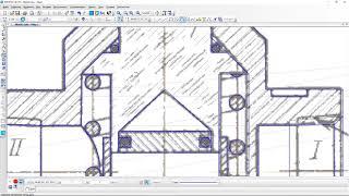 Рисуем фильтр Ф10 в САПР Компас 3D. Drawing, CAD