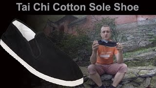 Tai Chi Cotton Sole Shoes for sale at Enso Martial Arts Shop