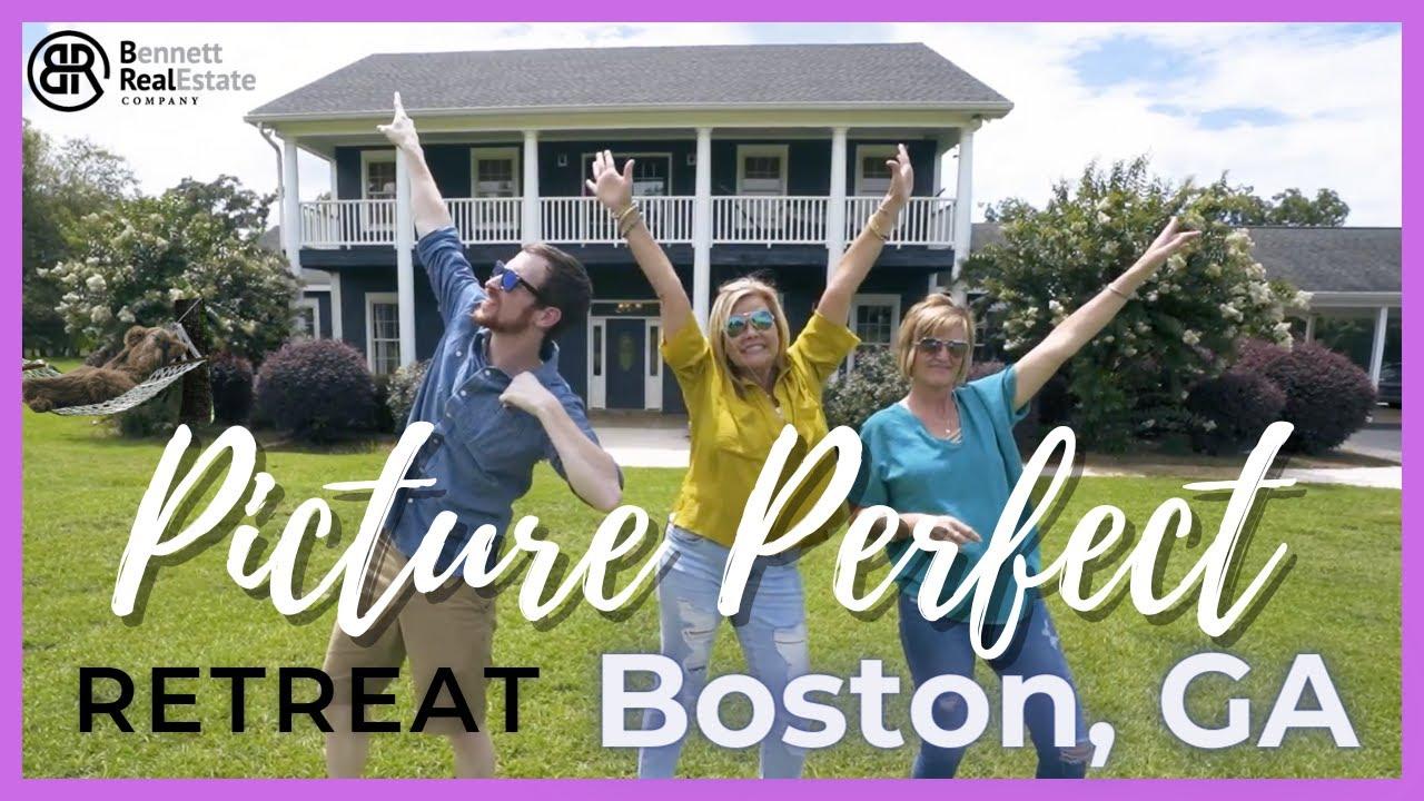 Boston GA Picture Perfect Retreat Stunning 24.5 Acre Property