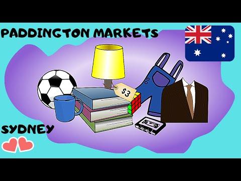 SYDNEY'S Wonderful And Iconic Paddington Markets 🛍️ (Australia), Let's Go!