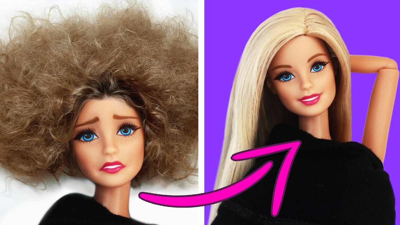 25 life hacks with dolls and toys
