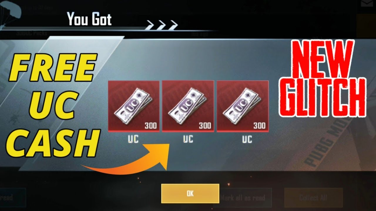 New Glitch To Get FREE UC Cash in PUBG MOBILE | India Bonus Challenge Trick