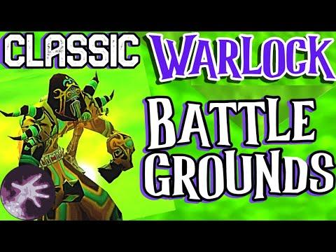Classic / Vanilla WoW Warlock Battleground PVP / SM RUIN (No Music) - (Not Classic Beta) - Voivid