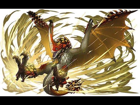 千刃龍-小李飛刀加天殘腳你怕不怕【魔物獵人,怪物獵人生態】