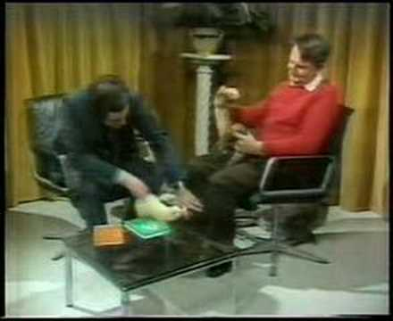 TV Outtakes  Richard Whiteley and the Ferret