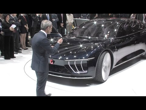 Italdesign Giugiaro Gea World Premiere