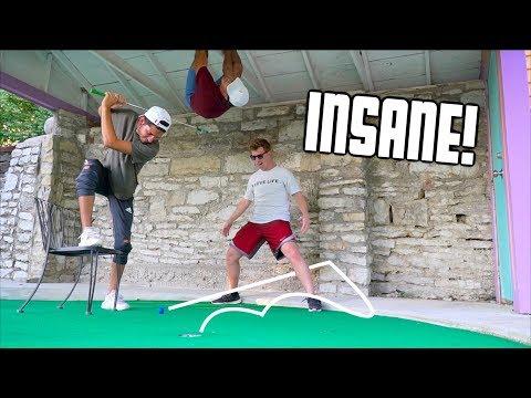 Insane 2v2 Mini Golf Battle For $100
