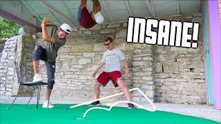 Insane 2v2 Mini Golf Battle For $100