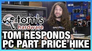HW News - Tom Himself Responds to Tom's HW, 25% PC Price Hike