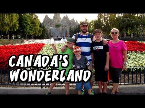 CANADA'S WONDERLAND - ROLLER COASTER FUN TIME ★ LifewithNiels Vlog