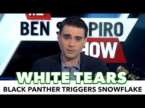 Ben Shapiro Gets Triggered Over Black Panther