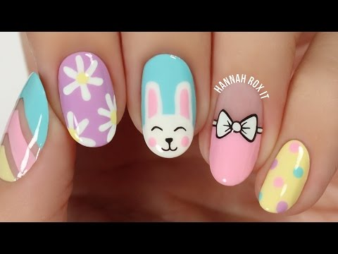 5 Cute Spring Nail Art Ideas