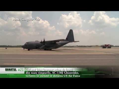 Cel mai bine înarmat avion de luptă din toate timpurile, AC 130J Ghostrider, va intra în curând în d
